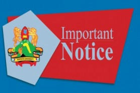 CLARIFICATION ON ADMINISTRATION OF EXAMINATION FOR 2019/2020 SECOND