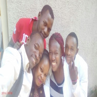 Ashimala Isaiah and Friends after a Lab Session